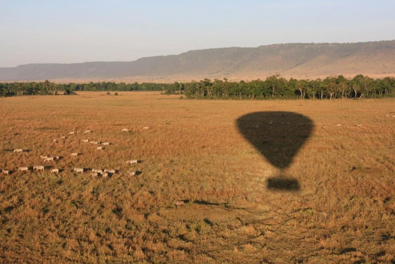 Globo en Masai Mara