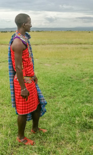 Luca, Masai en Masai Mara
