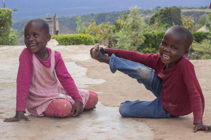 Niñas en Bamba Project Kenia