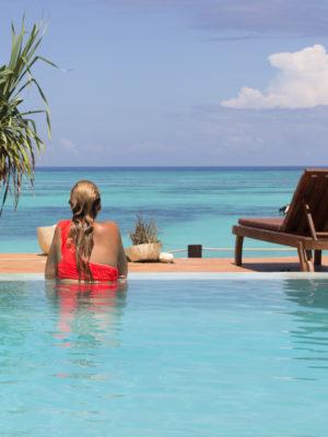 Zanzibar playa isla
